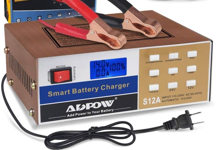ADPOW Automotive Smart Battery Charger