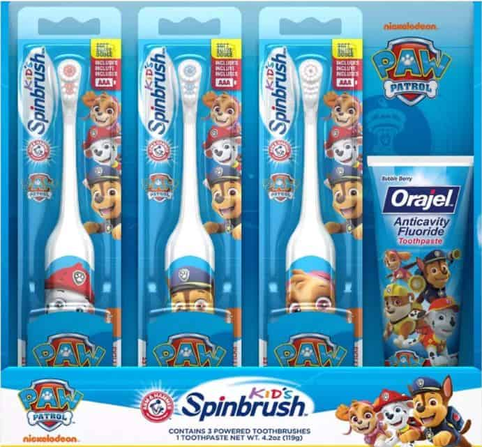 Spinbrush Kids Value Pack Electric Toothbrush